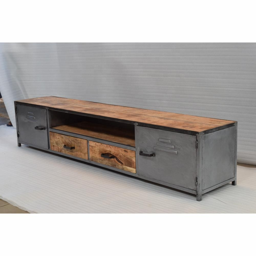 Tv Board Industrial Customise High Quality Industrial Antique Look Tv Low Board Cabinet - Buy Outdoor Tv Cabinet,modular Tv Cabinets,small Tv Cabinet Product On Alibaba.com