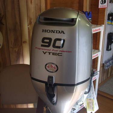 2018 Hondas 90hp Outboard Motor