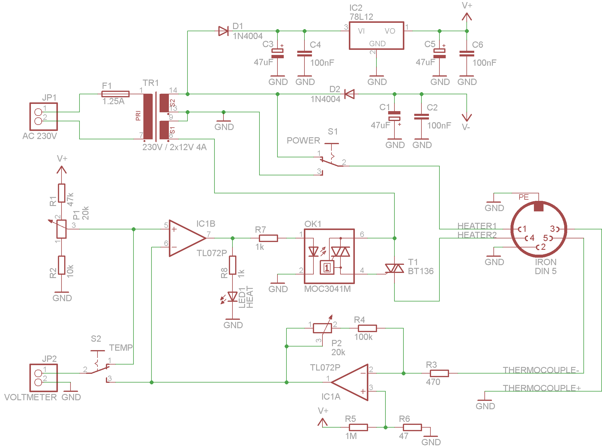 soldering iron wiring diagram er for employee database diy station schematic get free image about