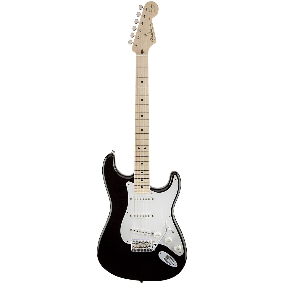 medium resolution of electric guitar fender eric clapton stratocaster blk
