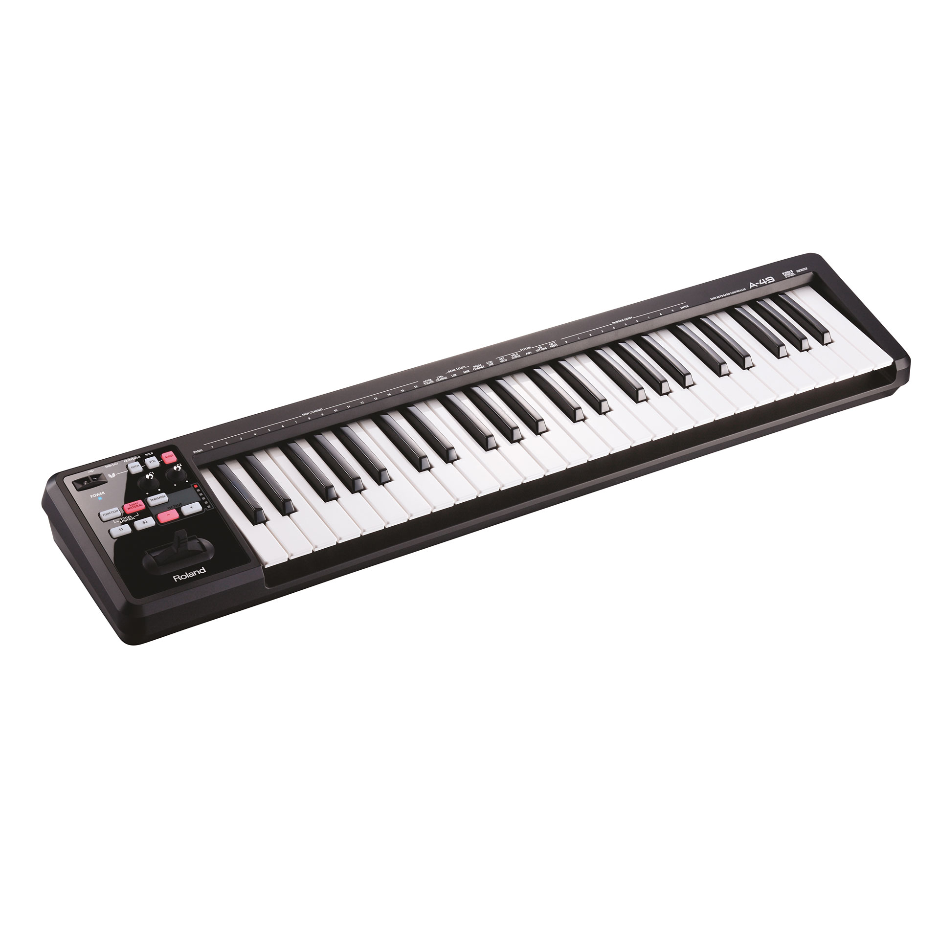 Roland A-49 BK « Master Keyboard