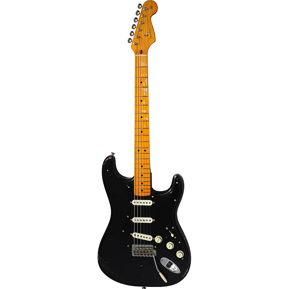 medium resolution of electric guitar fender david gilmour stratocaster relic