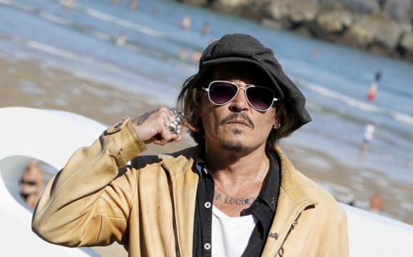 Johnny Depp.  Photo: Reuters