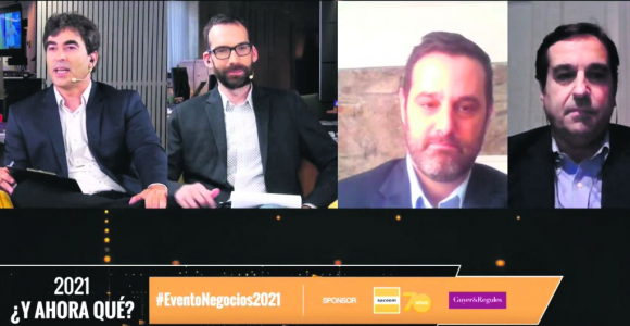 In a new edition of the Business event, experts analyzed challenges in Uuguay at the worst moment of the pandemic.  Photo;  Youtube
