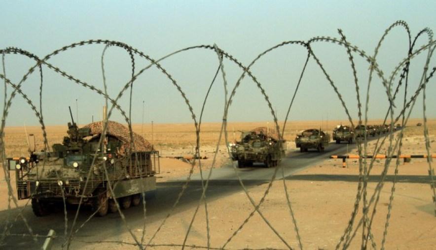 Militares en Irak. Foto: Archivo El País