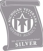 2021-2022 Silver Certified MVAA Veteran Friendly School award