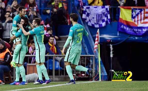 برشلونة يقهر أتلتيكو مدريد ويضع قدما بنهائي كأس إسبانيا