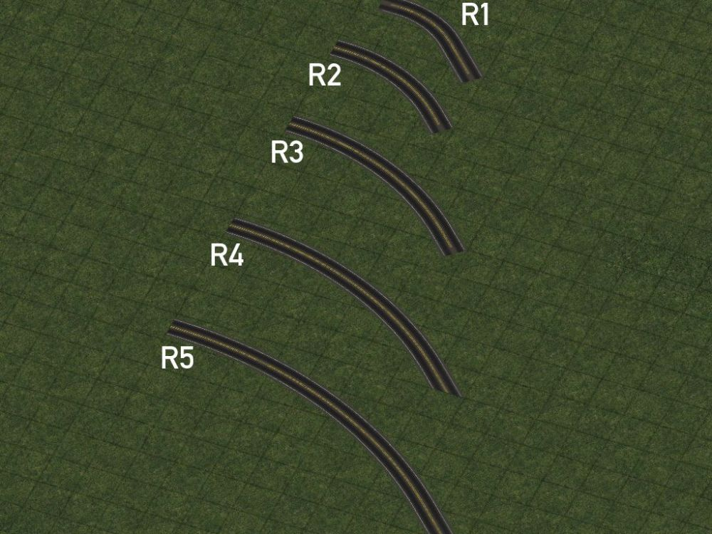 medium resolution of r1 curves also known as mini curves are constructed by draggable means and can be easily constructed with a simple additional motion when building the
