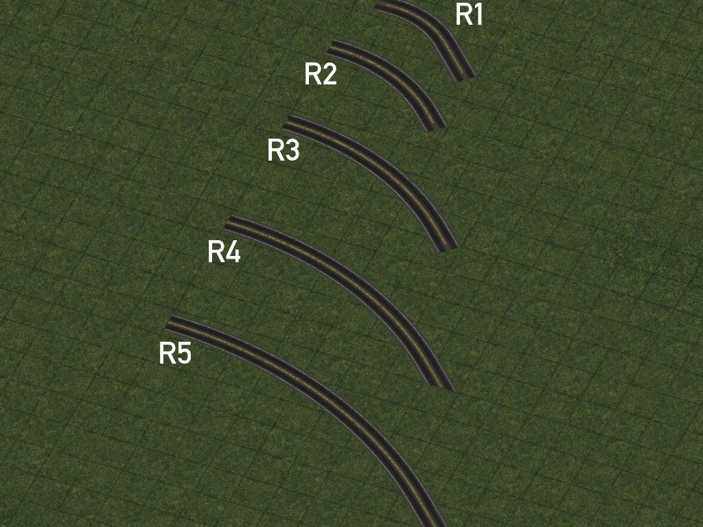 hight resolution of r1 curves also known as mini curves are constructed by draggable means and can be easily constructed with a simple additional motion when building the