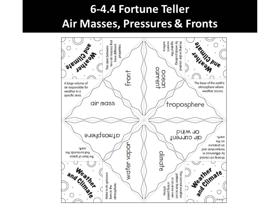 Air Masses And Fronts Worksheet Answers