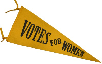 Pennant, League of Women Voters of the Fairfax Area records, undated