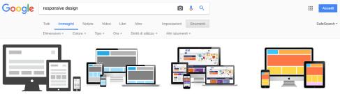 opzioni ricerca google immagini versione desktop