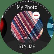 Samsung Gear S2 Custom Watch Face screenshot