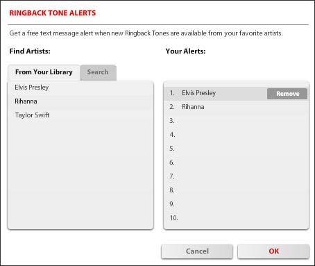 Add  Remove Ringback Tone Alerts  Verizon Wireless