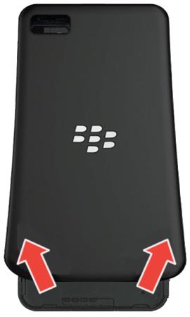 Cara Instal Bb Z10 : instal, Insert, Remove, Battery, BlackBerry, Verizon