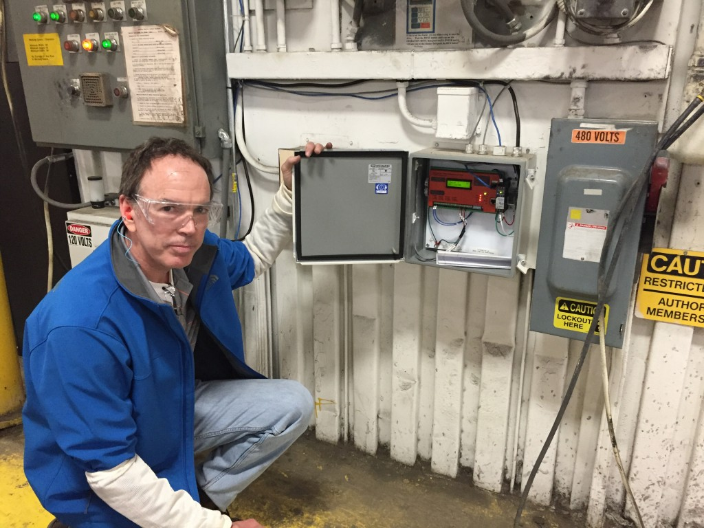 SubMetering Natural Gas in a Factory Control Environment using EtherMeters and Rotary Gas