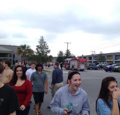Gas Leak Evacuates The Hive Scad District