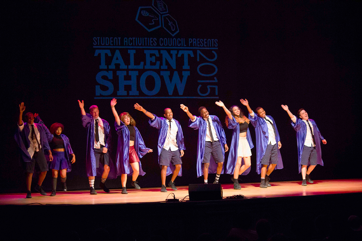 talent show write up