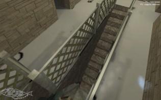 Лестница в подземную часть