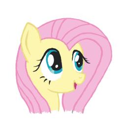 Пони FlatterShy (Портрет)
