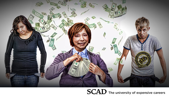 SCAD raises tuition over 14%