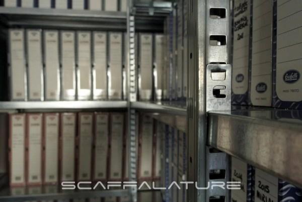 Scaffalature metalliche industriali