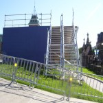 Scaffolding at Parliament