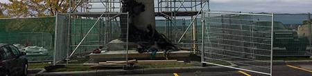 job site fencing protection ottawa