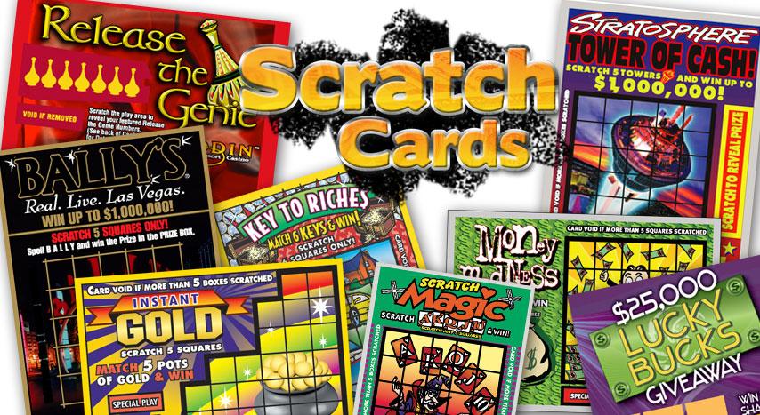 Scratch Cards SCA Gaming