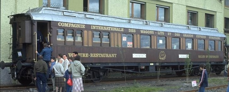 Carrozze Restaurant CIWL con carrozzeria in metallo