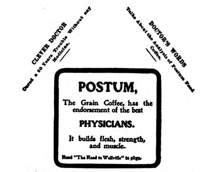1916 Kellogg's Krumbles Ad