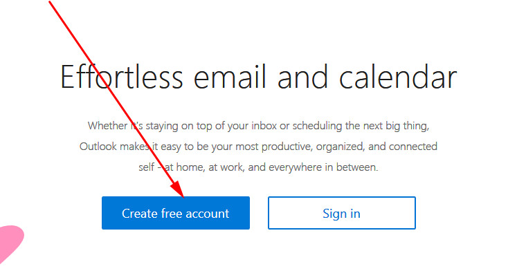 Hotmail create account. Outlook sign up. Hotmail email - Hotmail.com