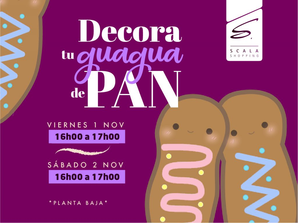 Decora Tu Guagua De Pan Scala Shopping