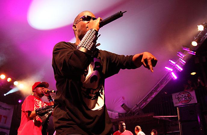 DJ Paul and Juicy J of Three 6 Mafia. Photo by Jay West