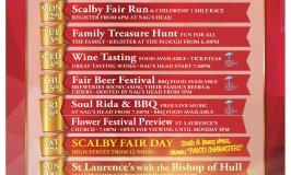 Scalby Fair 2017 programme