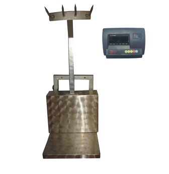 Scale-Hire-CARCASS or WALL MOUNTED FOLD DOWN SCALE