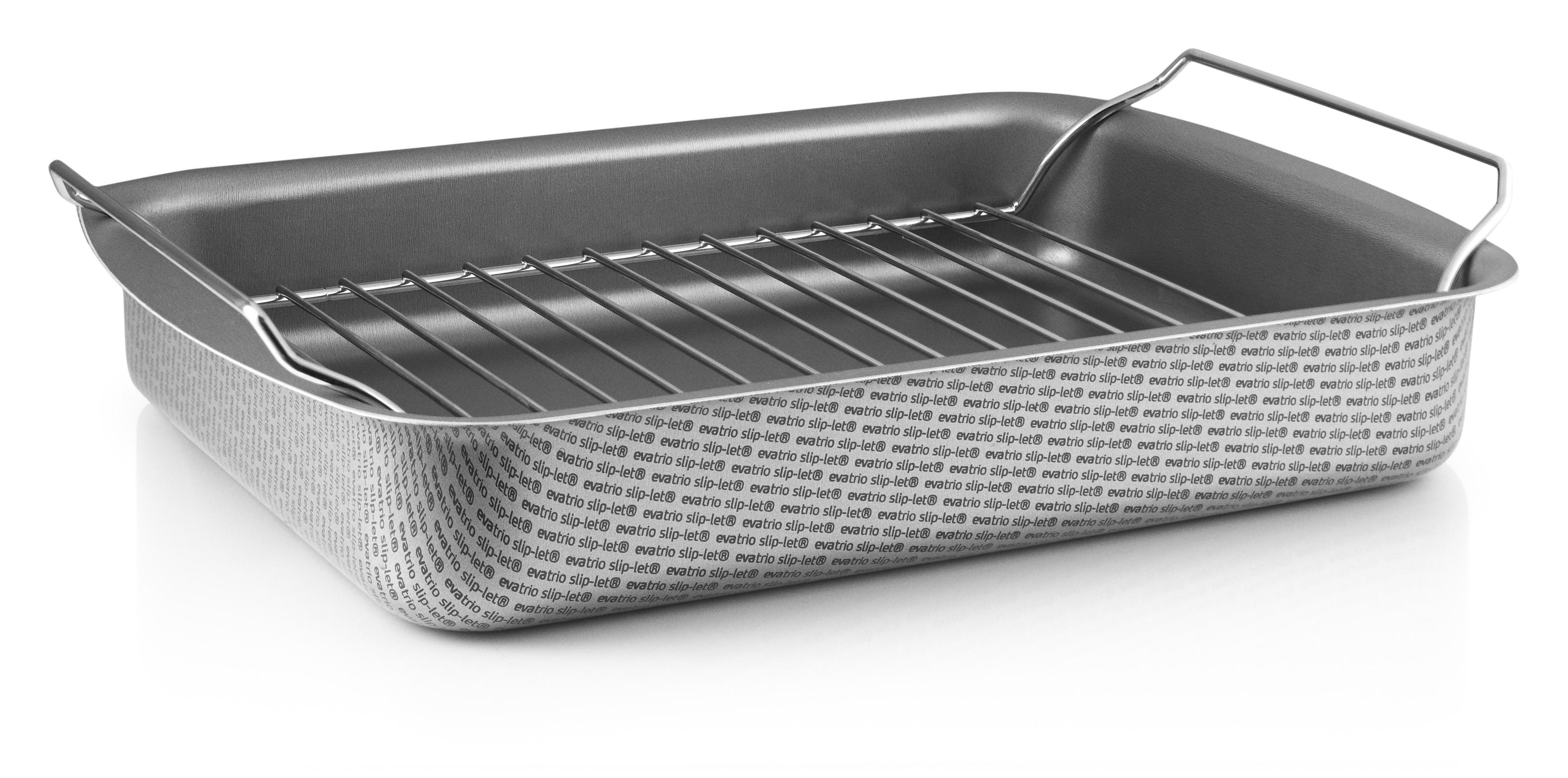 buy eva trio roasting pan w rack large 202030 grey l incl shipping
