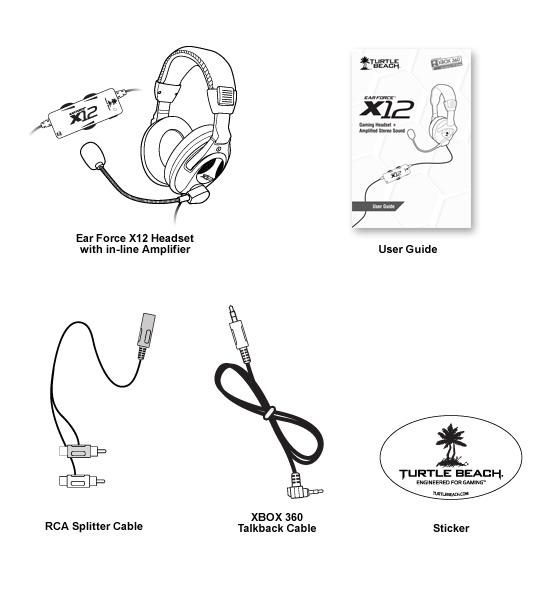 Buy Turtle Beach X12 Xbox 360 Headset