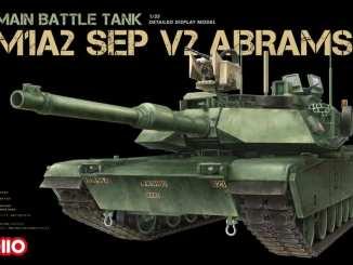 1/35 M1A2 SEP V2 ABRAMS VOIIO