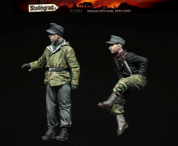 1/35 German AFV crew #3182