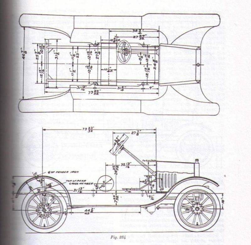 1926 Ford Model T Wiring Diagram. Ford. Auto Wiring Diagram
