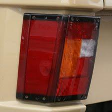 1980 Range Rover Rear Lamp Cluster with Fog light