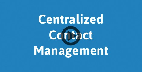screenshot image of Marketing Automation Infusionsoft CRM Software Singapore indicating centralized contact management