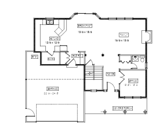 Riverside first floor plan