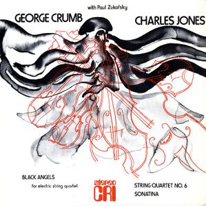 Album cover by Black Angels by George Crumb
