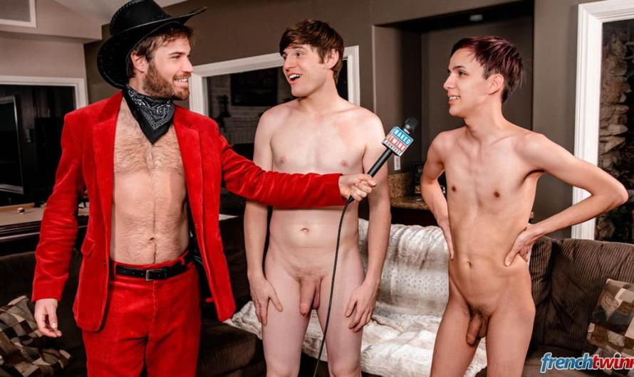 FrenchTwinks – NTC Eat My Donut – Lucas Bouvier & Cole Patrick