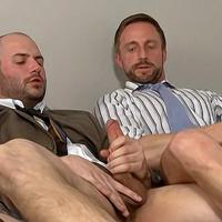DaddySexFiles - Mutual Bating Business Buddies - Sven Norse, David Chase