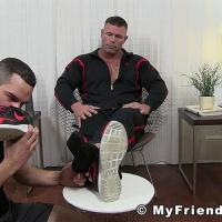 Joey's New Foot Slave