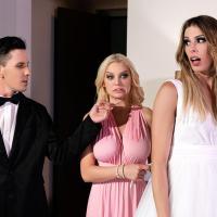TransAngels - Ringing Her Wedding Bells Part 1 - Casey Kisses, Kenzie Taylor & Michael Stax