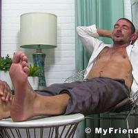 MyFriendsFeet - Johnny Hazzard Worshiped